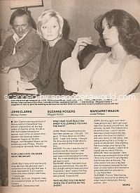 Interview with John Clarke, Margaret Mason & Suzanne Rogers (Mickey, Linda & Maggie on Days Of Our Lives)