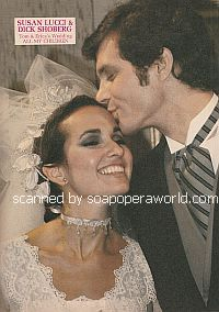 Susan Lucci and Richard Shoberg (Erica and Tom on All My Children)