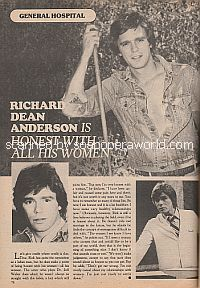 Richard Dean Anderson Is Honest With All His Women