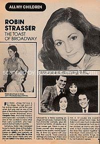 Robin Strasser - The Toast Of Broadway