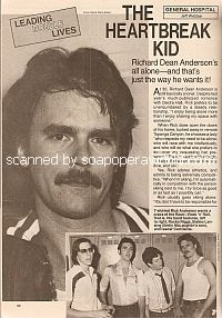 Interview with Richard Dean Anderson (Richard plays Jeff Webber on General Hospital)