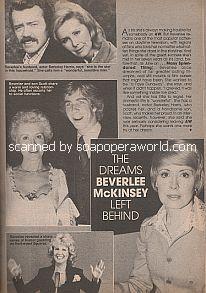 Beverlee McKinsey (Iris Bancroft on Another World)