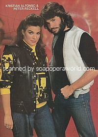 Peter Reckell and Kristian Alfonso (Bo and Hope on Days Of Our Lives)