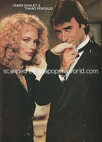 Leann Hunley and Thaao Penghlis (Anna and Tony on Days Of Our Lives)