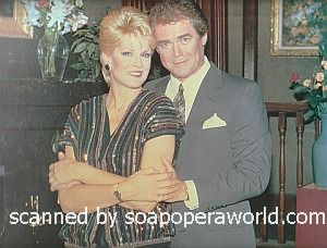 Gloria Loring and Joe Gallison of Days Of Our Lives 1986