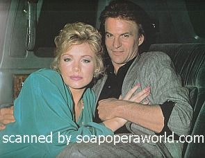 Shannon Tweed and Josh Taylor of Days Of Our Lives 1986