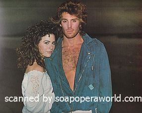 Holly Gagnier and Michael Weiss of Days Of Our Lives 1986