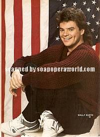 Wally Kurth played the role of Justin on DAYS