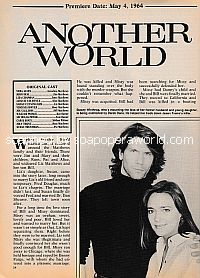 NBC Soap Opera Another World featuring Kevin Carrigan and Hilary Edson)