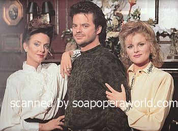 Judith Chapman, Wally Kurth & Judi Evans (Anjelica, Justin & Adrienne on Days Of Our Lives)