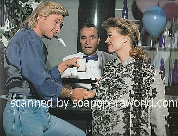 Stephen Nichols, Mary Beth Evans & Don Frabotta (Patch, Kayla & Dave on Days Of Our Lives)