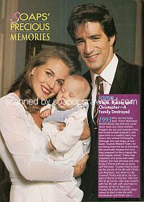 Noelle Beck & Robert Tyler (Trisha & Trucker on the ABC soap opera, Loving)