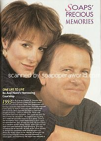 Hillary B. Smith & Robert S. Woods (Nora & Bo on One Life To Live)