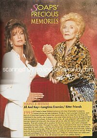 Jess Walton & Jeanne Cooper (Jill & Kay on The Young & The Restless)