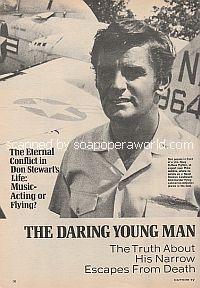 Interview with Don Stewart (Mike Bauer on The Guiding Light)