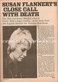 Interview with Susan Flannery (Dr. Laura Horton the soap opera, Days Of Our Lives)