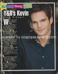 Greg Rikaart (Kevin on The Young and The Restless)