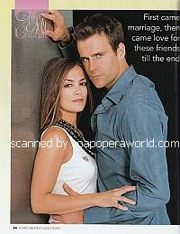 Cameron Mathison and Rebecca Budig (Ryan and Greenlee on All My Children)