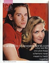 Roger Howarth and Kassie DePaiva (Todd and Blair on One Life To Live)