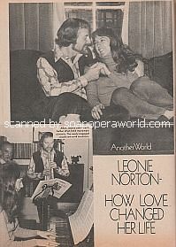 Interview with Leonie Norton (Cindy Clark on the soap opera, Another World)