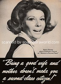 Interview with Susan Brown (Susan plays Constance Carson on Return To Peyton Place)