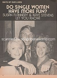 Interview with Susan Flannery & Kaye Stevens of Days Of Our Lives
