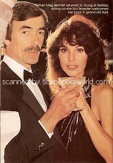 Eric Braeden and Meg Bennett (Victor and Julia on The Young & The Restless