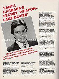 Interview with Lane Davies (Mason Capwell on Santa Barbara)