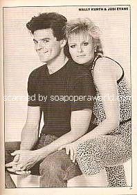 Wally Kurth & Judi Evans
