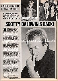 Interview with Kin Shriner (Scotty Baldwin on General Hospital)