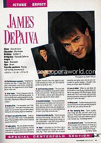 Centerfold Interview with James DePaiva (Max Holden on One Life To Live)