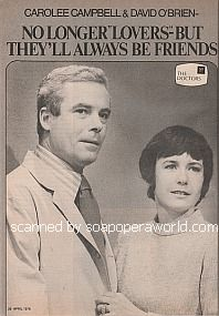 Carolee Campbell and David O'Brien of The Doctors
