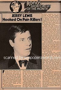 Jerry Lewis Hooked On Pain Killers!