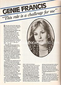 Interview with Genie Francis (Diana Colville on Days Of Our Lives)