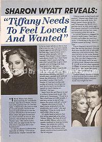 Interview with Sharon Wyatt (Tiffany on General Hospital)