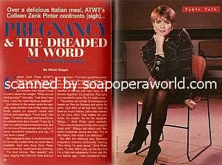 Interview with Colleen Zenk Pinter (Barbara, ATWT)