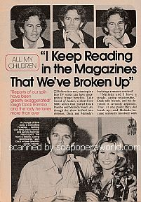 Interview with Dack Rambo (Steve Jacobi on All My Children)