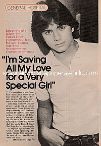 Interview with John Stamos (Blackie Parrish on General Hospital)