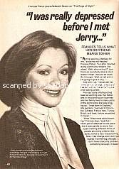 Interview with Frances Fisher (Deborah Saxon, Edge of Night