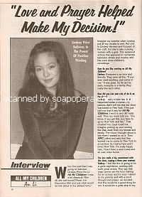 Interview with Lindsay Price (An Li on All My Children)
