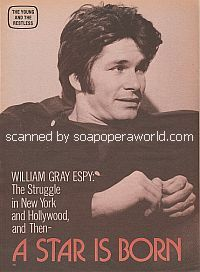 Interview with William Gray Espy (Snapper Foster on The Young & The Restless)