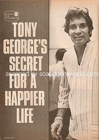 Interview with Tony George (Dr. Tony Vincente on the soap opera, Search For Tomorrow)