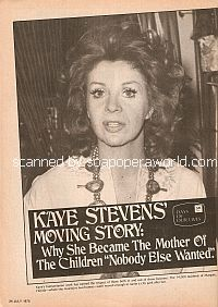 Interview with Kaye Stevens (Jeri Clayton on the soap opera, Days Of Our Lives)
