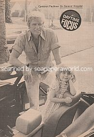 Don Matheson of General Hospital with daughter, Michele