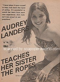 Interview with Audrey Landers (Heather Kane on Somerset)