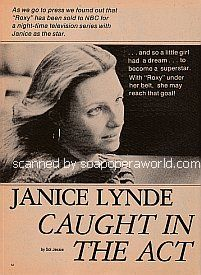 Interview with Janice Lynde (Leslie Brooks Eliot on Y&R)