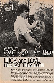 Interview with John McCook (Lance Prentiss on The Young and The Restless)