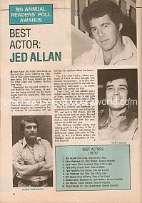 Best Actor:  Jed Allan of Days Of Our Lives