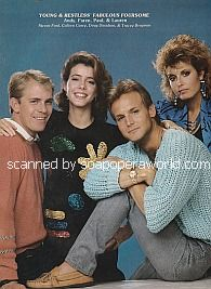 Steven Ford, Colleen Casey, Doug Davidson & Tracey Bregman of The Young and The Restless