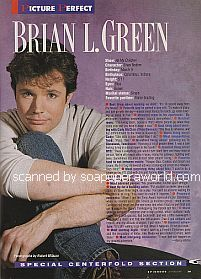 Centerfold Interview with Brian Green (Brian Bodine on All My Children)